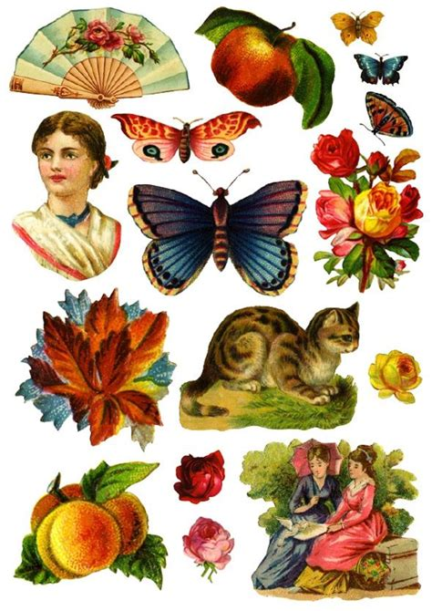 Free Decoupage To Print - free images vintage images