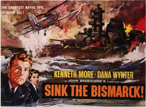 sink the bismarck sink the bismarck movie posters from movie poster shop