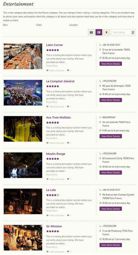 theme wordpress listing city guide wordpress theme 2018 responsive city