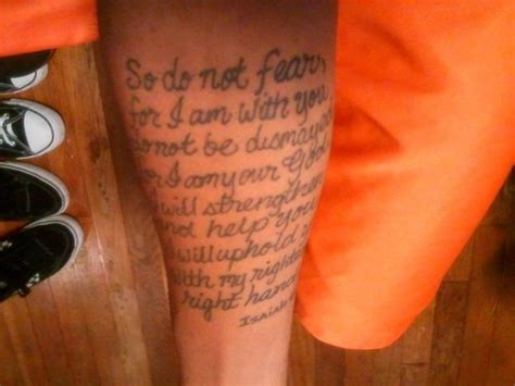 isaiah 41 10 tattoo bible scripture isaiah 41 10 picture at