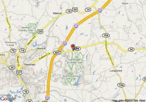 map of springhill suites newnan newnan