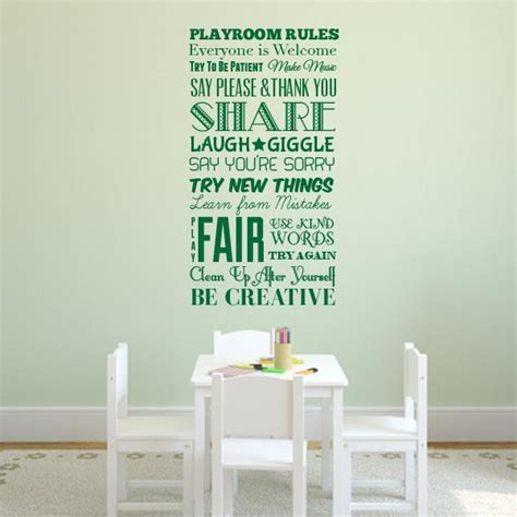 playroom wall stickers playroom wall decal wall decal world