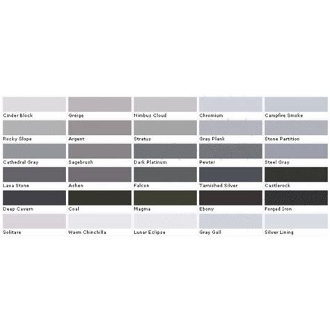 9 best images of grey color chart 50 shades of grey fifty shades of pantone grey liked on polyvore polyvore