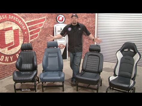 Elite Upholstery Mustang Procar Seats Youtube