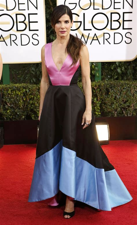 sandra bullock golden globes 2014 golden globes fashion best and worst writer wronger