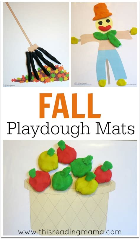 printable apple playdough mats free fall playdough mats free homeschool deals