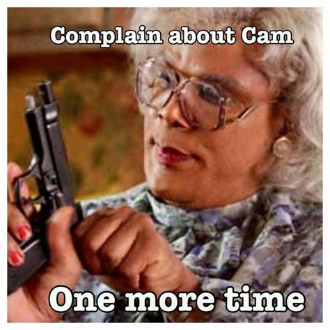 Cam Meme - 16 things black moms say to their children cam newton