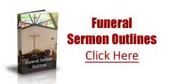 Sermon outlines sermon outlines for funeral services funeral sermon