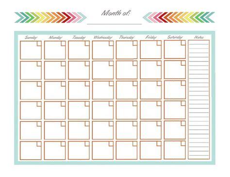 monthly schedule template ideas pinterest