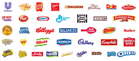 logo products images 10 inspirational food packaging logos packaging innovation