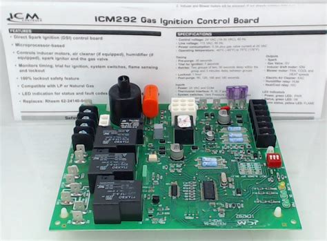 icm292 gas ignition board for rheem