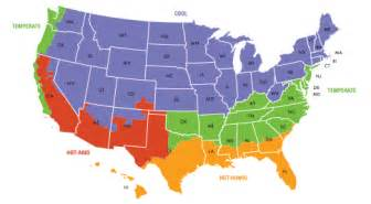 Climate Zone Map United States by Fotos United States Climatic Zones
