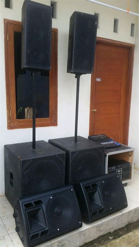 jual sound system indoor outdoor subwoofer tweeter yamaha peavey dbx