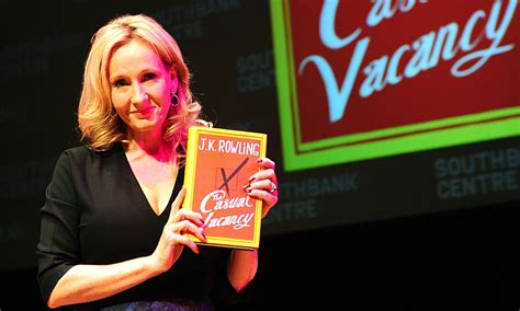 Jk Rowling The Casual Vacancy crime author reaps whirlwind after urging jk rowling to stop writing books the guardian