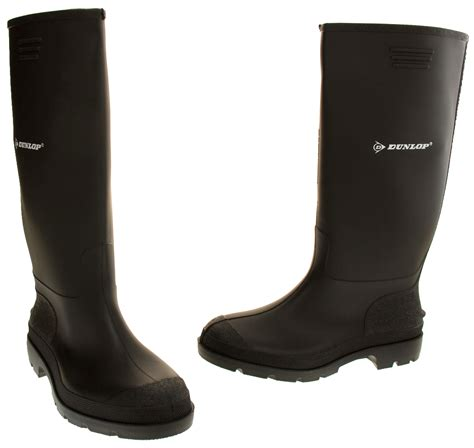 mens wellies boots mens dunlop waterproof wellington boots garden boot