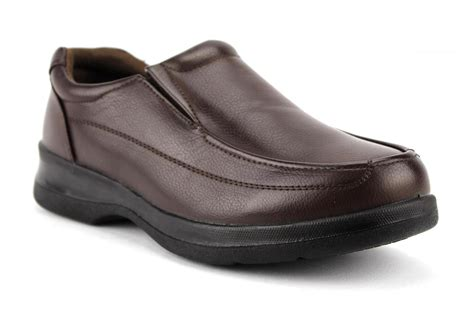 s black brown slip on restaurant work shoes slip