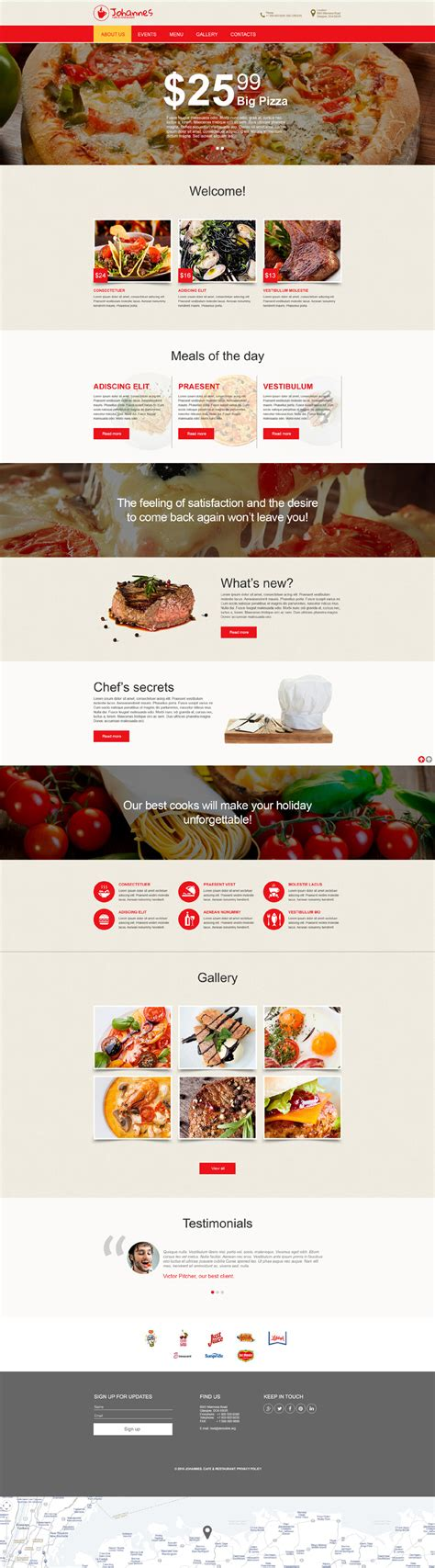 Rij 55280 Bigsize cafe and restaurant muse template 55280