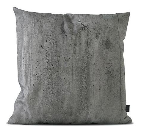 Concrete Pillow by Thedesignerpad Thedesignerpad Softness