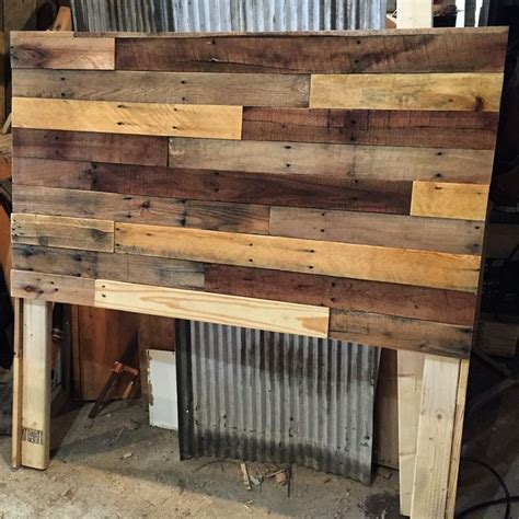 pallet wood headboard best 25 diy headboard wood ideas only on pinterest barn