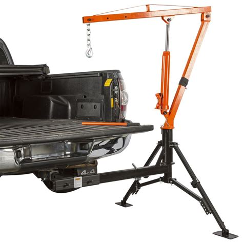 truck bed crane by apex 1000 lb capacity autos post