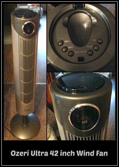 ozeri ultra 42 inch wind fan ozeri ultra 42 inch wind fan adjustable oscillating