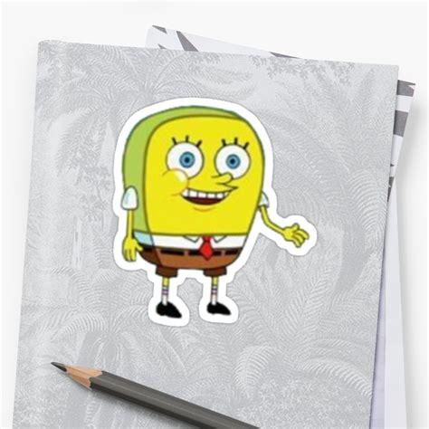 Sticker Kulkas Motif Spongebob quot spongebob quot stickers by rad merch redbubble