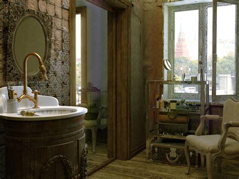 old bathrooms interior scenes bathroom 3d model