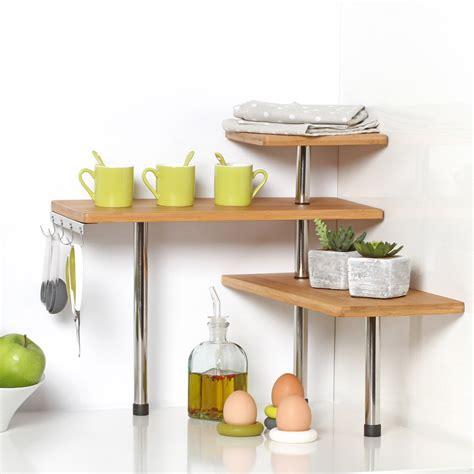 kitchen corner shelf bamboo and stainless steel corner shelf unit kitchen
