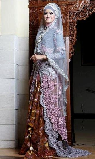 memilih model baju pengantin muslim tips memilih model kebaya pengantin muslim terbaik