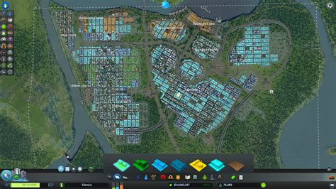 industrial zone layout cities skylines traffic manager cities skylines maps