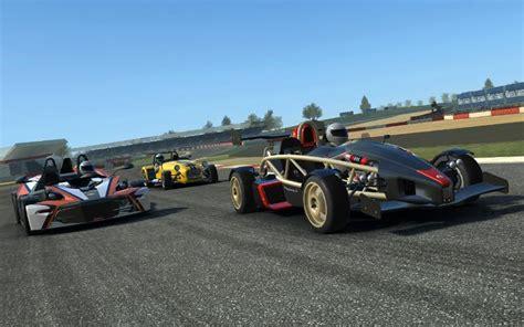 real racing  araba yarisi oyunu andropedi