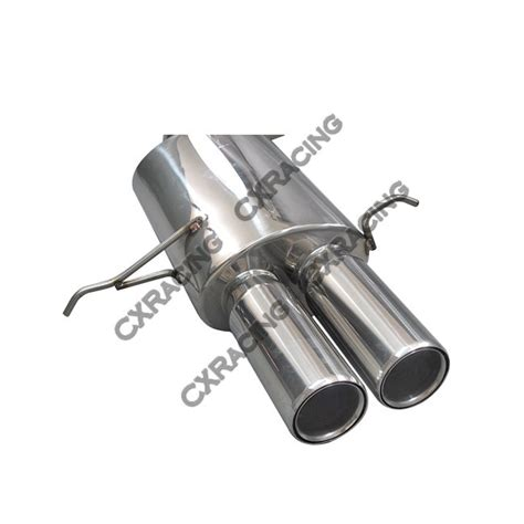 Auspuff Audi A4 B5 by Catback Exhaust System For 94 01 Audi A4 B5 3 Quot Stainless Steel