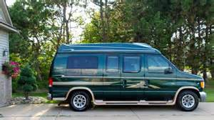 sell used 1999 ford e 150 high top luxury conversion van