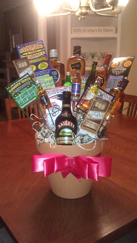 mens valentines gifts cute gift basket idea for guys for his birthday or