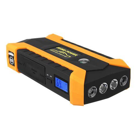 Powerbank V 7200mah Free Jump Starter 89800mah led car jump start starter 4 usb charger battery