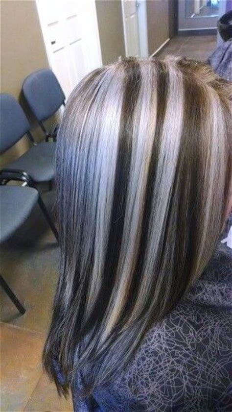 pictures of silver highlights silver highlights my hair creations