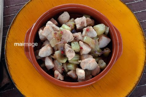 Sambal Roa Si Roa 350 Gr il colore della curcuma bocconcini di pollo al sedano e