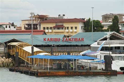 fast boat dar es salaam to zanzibar zanzibar port picture of azam marine and coastal fast