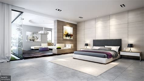 Room Design Ideas For Bedrooms | contemporary bedroom scheme interior design ideas