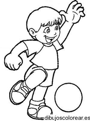 imagenes niños haciendo deporte para colorear dibujos de deportes