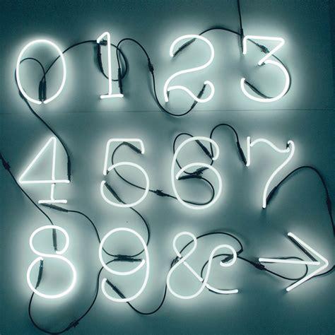applique neon applique numeri neon by seletti lovethesign