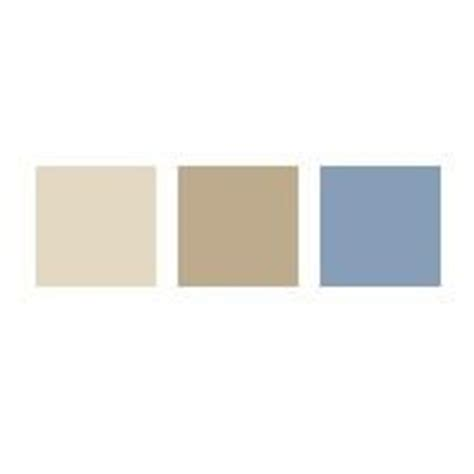 glidden paint colors navajo sand soft suede steel blue via mycolortopia for the home