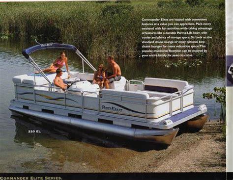 parti kraft pontoon boat covers parti kraft 2002 pontoon brochure sailinfo i