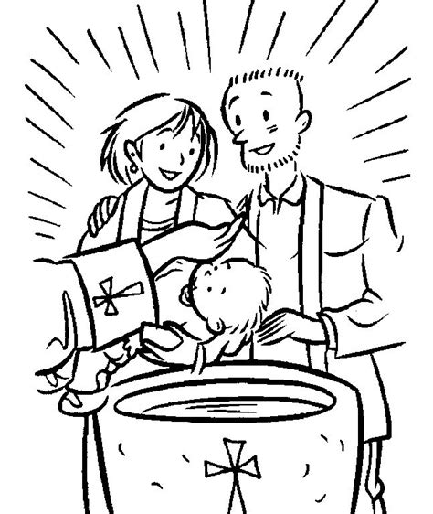 free coloring page baptism of jesus 53 best images about sacraments of initiation unit d8 4