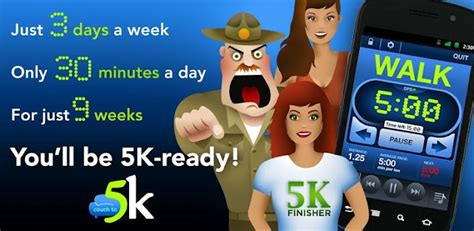 couch to 5k app for android couch to 5k app comes to android droid life