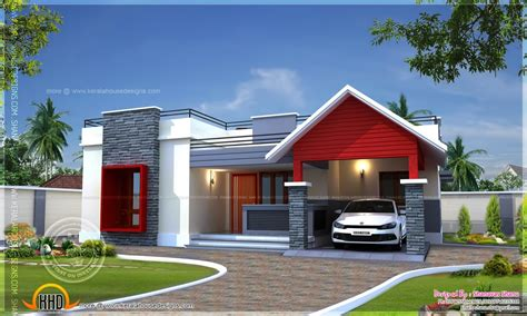 home design for story modern single floor house designs modern single story