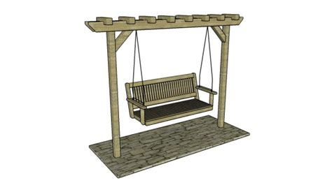 swing stand plans 8 free arbor plans free garden plans how to build