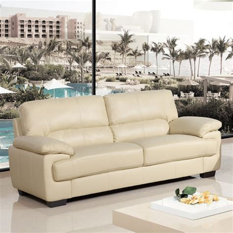 cream leather sofas from the chelsea collection simply
