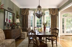 Window Curtains For Dining Room Decor Window Treatments With Drama And Panache Decorating Den Interiors