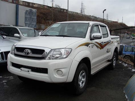 Toyota Up Hilux 2008 Toyota Hilux Up Pictures 3 0l Diesel